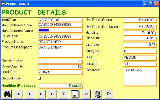 Automobile Service Station Management Software